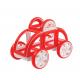 Игрушки, Магнитный конструктор My First Buggy Car Set MAGFORMERS (красный)658092, фото 4
