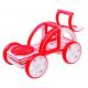 Игрушки, Магнитный конструктор My First Buggy Car Set MAGFORMERS (красный)658092, фото 5