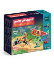 Магнитный конструктор Adventure Mountain set MAGFORMERS