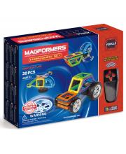 Магнитный конструктор Funny Wheel Set 20 MAGFORMERS