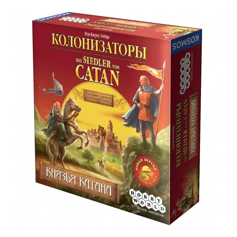 Hobby World Настольная игра Колонизаторы Князья Катана настольная игра hobby world hobby world настольная игра колонизаторы князья катана