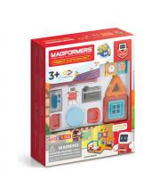 Магнитный конструктор Minibot's Kitchen Set MAGFORMERS