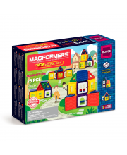 Магнитный конструктор Wow House set 28 MAGFORMERS