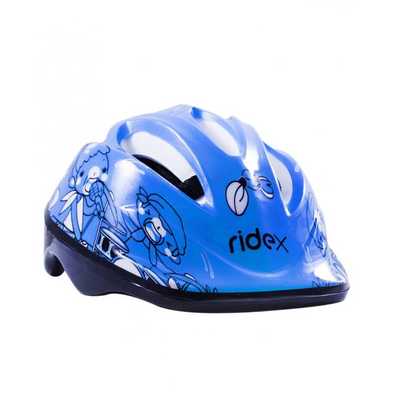 Шлем защитный TempoШлем защитный Tempo синегоцвета марки Ridex.<br>Яркий шлем предназначен для защиты головы во время катания на коньках, самокате или скейтборде. Модель для большей амортизации дополнена внутренними пенными вставками, а также для комфортного крепления на голове имеется регулируемый ремень на подбородок.<br>Внешний материал: ПВХ;<br>Внутренний материал: пена;<br>Размер S - для детей от 3 лет;<br>Размер M - для детей от 5 лет.<br><br>Цвет: Синий<br>Размер: Без размера<br>Пол: Для мальчика<br>Артикул: 669066<br>Страна производитель: Китай<br>Бренд: Россия
