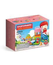 Магнитный конструктор Town Set Ice Cream MAGFORMERS