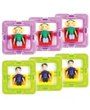 Набор 3 мальчика и 3 девочки MAGFORMERS