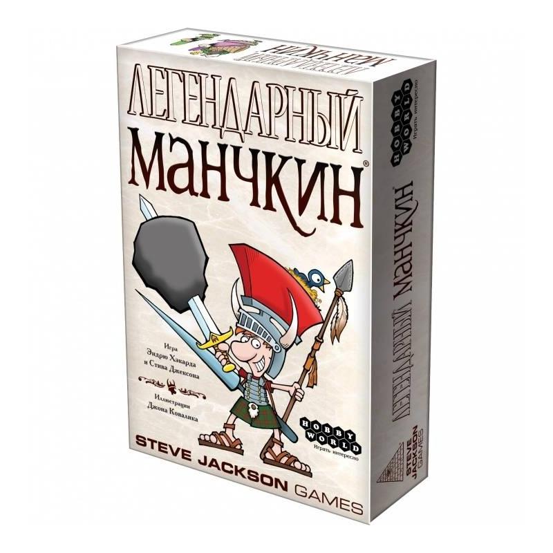 Hobby World Игра Легендарный Манчкин игра