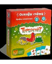Развивающая настольная игра Турбосчет Банда Умников