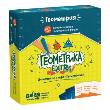 Игрушки, Дополнительный набор Геометрика EXTRA Банда Умников 658322, фото