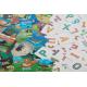 Игрушки, Развивающая настольная игра Зверобуквы English Банда Умников 658325, фото 4