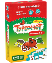 Развивающая настольная игра Турбокомплект 2 в 1 Банда Умников