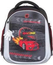 Рюкзак школьный Ünni Red Car
