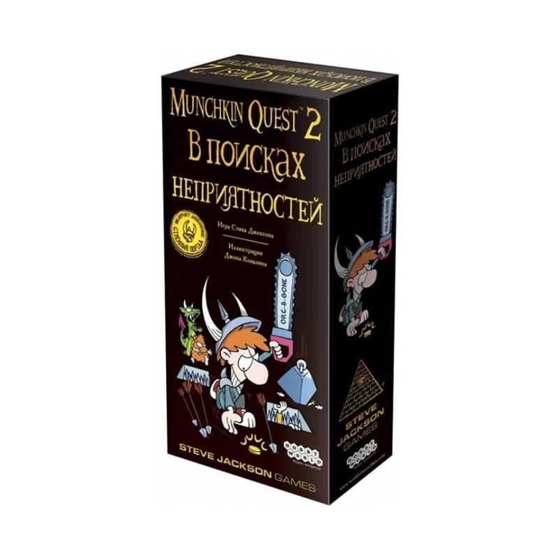 Купить Игра Манчкин Квест-2 В Поисках неприятностей, Hobby World