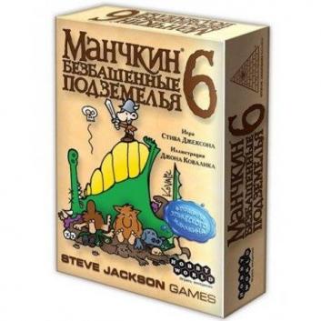 Игрушки, Игра Манчкин 6 Безбашенные Подземелья Hobby World 658221, фото