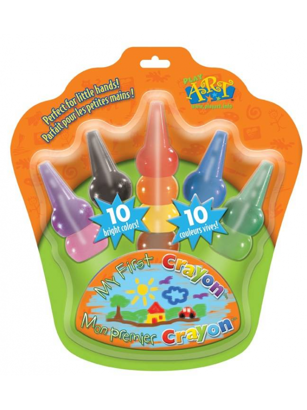 Карандаши восковые на пальчики Play Art Bojeux