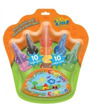 Карандаши восковые на пальчики Play Art