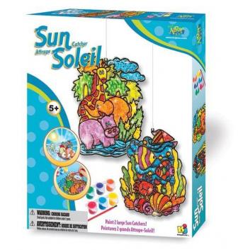 Набор для создания витражей Ловушка для солнца Play Art
