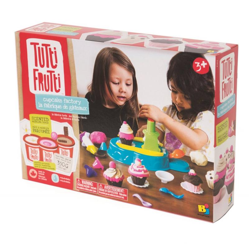 Bojeux Большой набор для лепки Кондитерская Tutti Frutti набор для детского творчества набор веселая кондитерская 1 кг
