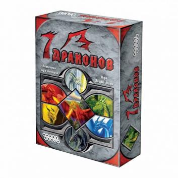 Игрушки, Настольная игра 7 драконов Hobby World 658235, фото