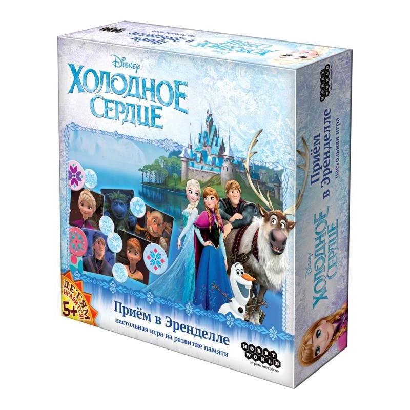 Hobby World Настольная игра Холодное Сердце Прием в Эренделле tomy настольная игра холодное сердце освободи олафа