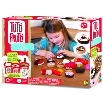 Набор массы для лепки Пончики Tutti Frutti