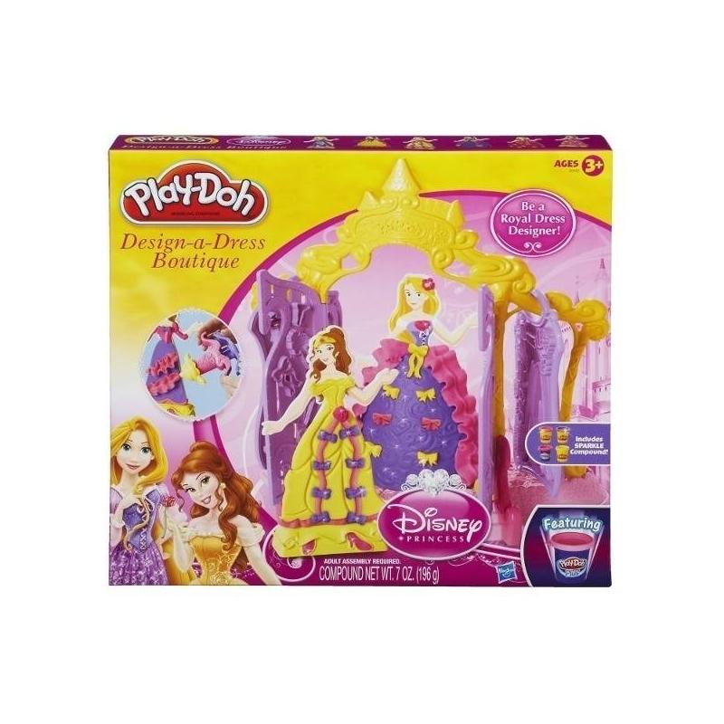 Play-Doh Набор пластилина Бутик для Принцесс  play doh набор пластилина весёлая пила