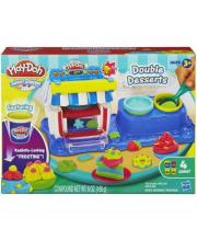 Набор пластилина Двойные десерты Play-Doh