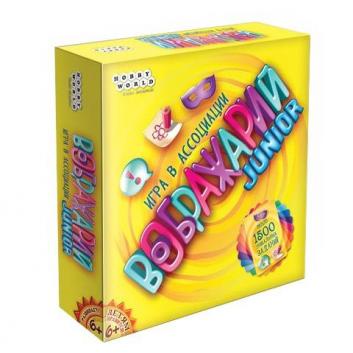 Игрушки, Настольная игра Воображарий Junior Hobby World 658246, фото