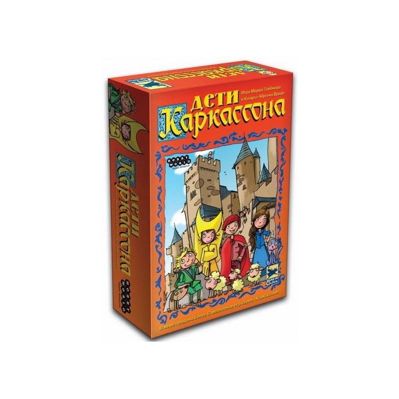 Hobby World Настольная игра Дети Каркассона