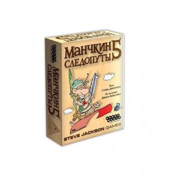 Игрушки, Настольная игра Манчкин 5 Следопуты Hobby World 658251, фото