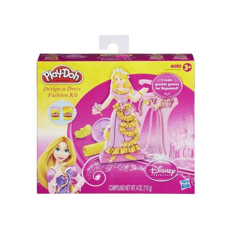 Набор пластилина Дизайнер платьев принцессНабор пластилина Дизайнер платьев принцесс розового цвета марки Play-Doh для девочек.<br>Игровой набор станет интереснейшим занятием для Вашей принцессы.С этим набором она сможет создавать красивые образы для героинь любимых мультфильмов.<br>В составе пластилина только безопасные даже для малышей ингридиенты: натуральные пищевые ароматизаторы и красители, пшеница. Пластилин очень мягкий для детских ручек и не ломается. Долго хранится в закрытых баночках, но если Вы забыли закрыть крышки и он подсох - просто смочите его водой и можно продолжать развивающие игры.<br>В наборе:2 печатки,фигуркапринцессы,скалка, 2баночки пластилина,трафареты.<br><br>Цвет: Розовый<br>Возраст от: 3 года<br>Пол: Для девочки<br>Артикул: 649082<br>Бренд: США<br>Страна производитель: Китай<br>Лицензия: Disney<br>Размер: от 3 лет