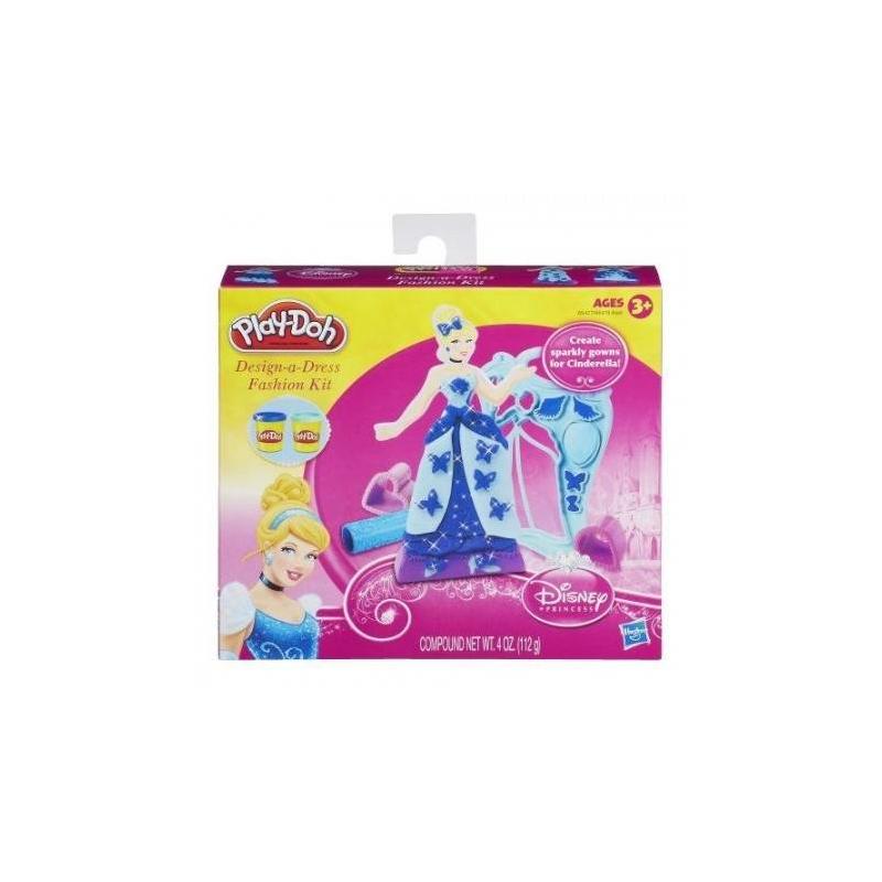 Набор пластилина Дизайнер платьев принцессНабор пластилина Дизайнер платьев принцесс голубогоцвета марки Play-Doh для девочек.<br>Игровой набор станет интереснейшим занятием для Вашей принцессы.С этим набором она сможет создавать красивые образы для героинь любимых мультфильмов.<br>В составе пластилина только безопасные даже для малышей ингридиенты: натуральные пищевые ароматизаторы и красители, пшеница. Пластилин очень мягкий для детских ручек и не ломается. Долго хранится в закрытых баночках, но если Вы забыли закрыть крышки и он подсох - просто смочите его водой и можно продолжать развивающие игры.<br>В наборе:2 печатки,фигуркапринцессы,скалка, 2баночки пластилина,трафареты.<br><br>Цвет: Голубой<br>Возраст от: 3 года<br>Пол: Для девочки<br>Артикул: 648585<br>Бренд: США<br>Страна производитель: Китай<br>Лицензия: Disney<br>Размер: от 3 лет