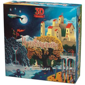 Игрушки, Настольная игра Имаджинариум 3D Stupid Casual 658306, фото