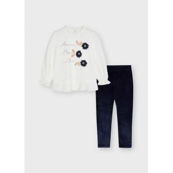 Девочки, Комплект джемпер и брюки MAYORAL (темносиний)519857, фото