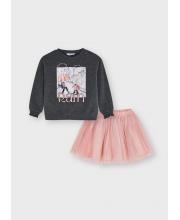 Комплект джемпер и юбка MAYORAL