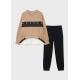 Девочки, Комплект пуловер и брюки MAYORAL (бежевый)519883, фото 1