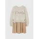 Девочки, Комплект пуловер и платье MAYORAL (белый)519887, фото 1