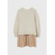 Девочки, Комплект пуловер и платье MAYORAL (белый)519887, фото 2