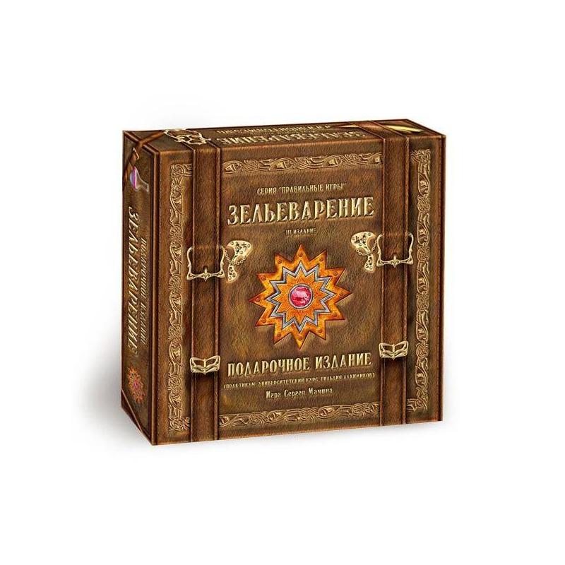 Правильные игры Настольная игра Зельеварение Подарочное издание правильные игры зельеварение подарочное издание