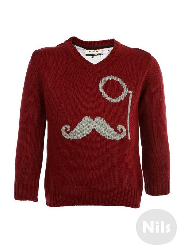 Пуловер NANICA (красный)