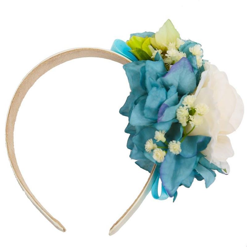ОбодокОбодокбирюзовогоцвета марки Malina by Андерсен.<br>Нарядныйободок украшен милыми цветами в бело-бирюзовой гамме и атласной лентой.Широкийобруч ободка обернут лентой и дополнен приятной тканью с внутренней стороны, не царапает кожу и не давит.<br><br>Цвет: Бирюзовый<br>Пол: Для девочки<br>Артикул: 649029<br>Страна производитель: Россия<br>Сезон: Всесезонный<br>Бренд: Россия<br>Размер: Без размера