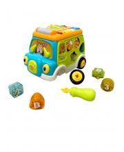 Развивающий игровой центр Baby bus Everflo
