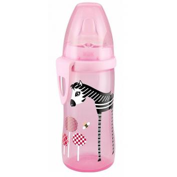 Бутылочка-поильник с силиконовой насадкой