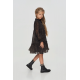 Девочки, Платье многоярусное Choupette (черный)917767, фото 2