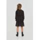 Девочки, Платье многоярусное Choupette (черный)917767, фото 3