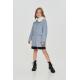 Верхняя одежда, Пальто в клетку Choupette (серый)917815, фото 1