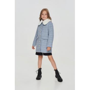 Верхняя одежда, Пальто в клетку Choupette (серый)917815, фото