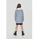 Верхняя одежда, Пальто в клетку Choupette (серый)917815, фото 2