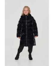 Пальто с тесьмой и крупной вышивкой Choupette