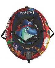 Тюбинг Snow Tubes 4 Пираты 108х92 см Small Rider
